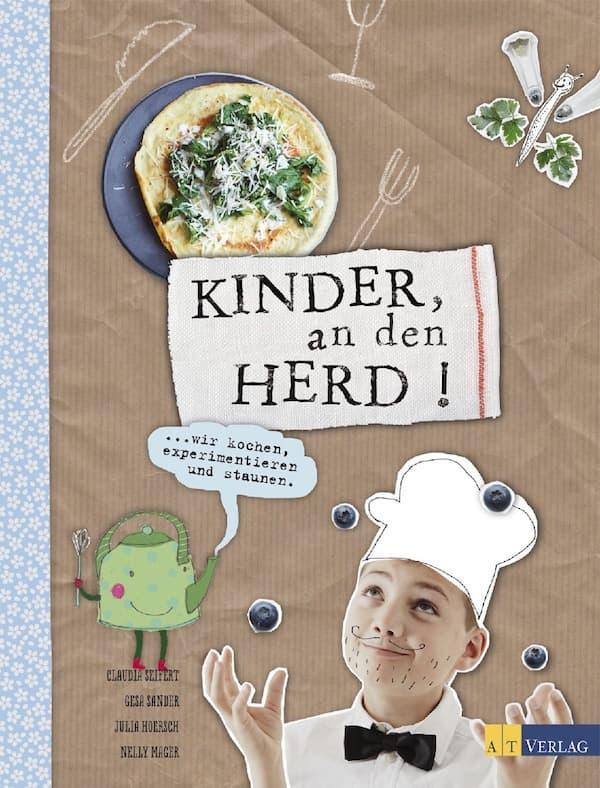 Cover: Kinder an den Herd